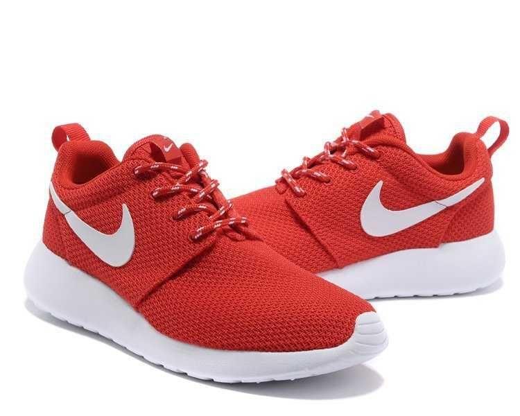 nike roshe run women all red