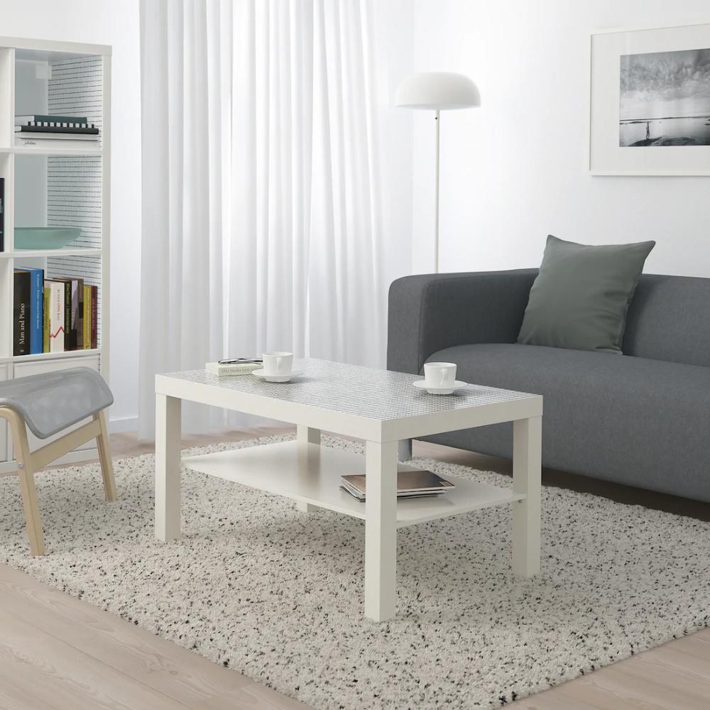 Lack Coffee Table White Check Pattern Ikea Lack Coffee Table Coffee Table White Ikea Lack Table [ 1000 x 1000 Pixel ]