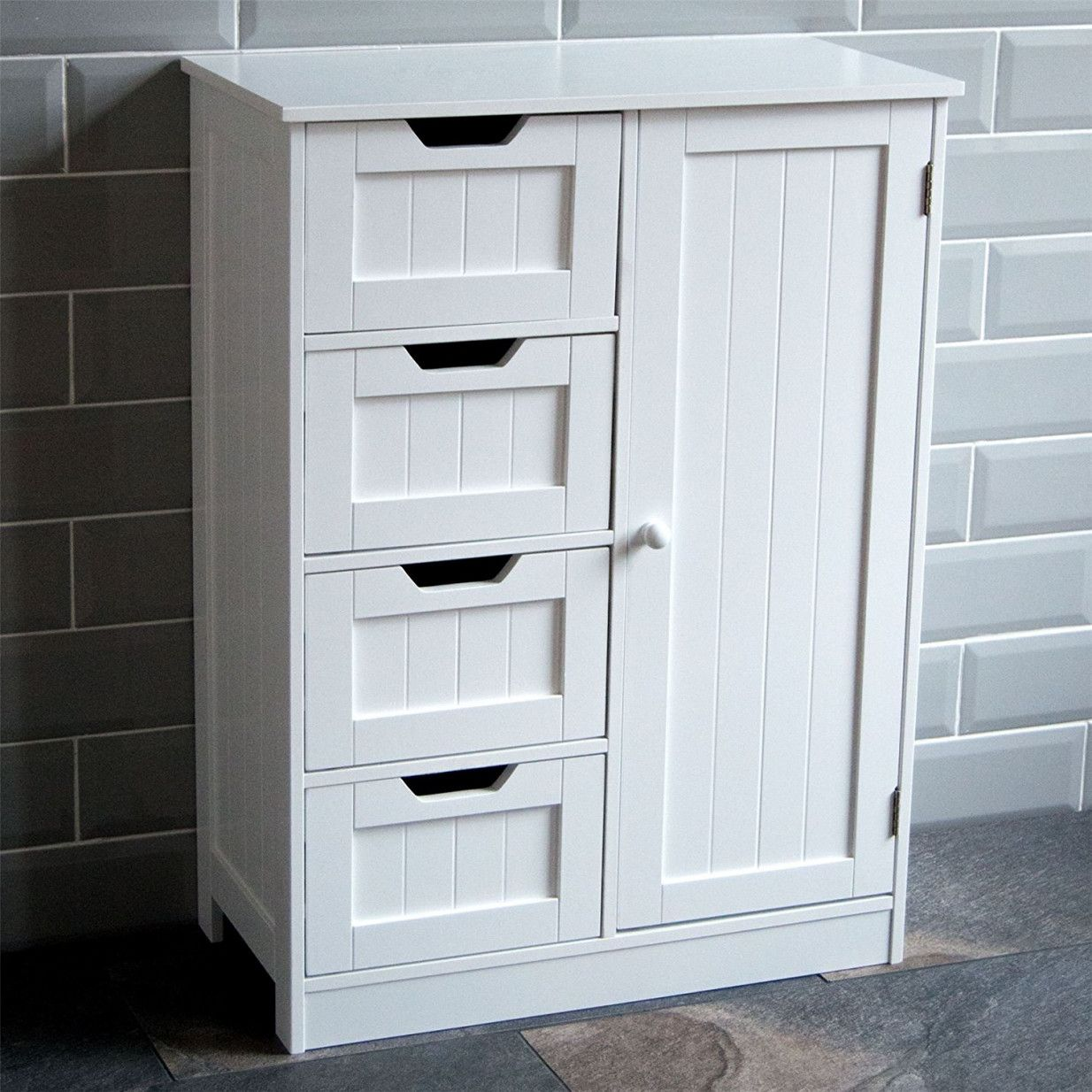 Lovely Bathroom Stand Alone Cabinet