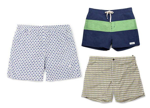 10 Cool Pairs Of Men's Swimwear [Spring/Summer 14 Edition] - http://www.dmarge.com/2014/04/10-fresh-pairs-mens-swimwear-summer-2014.html