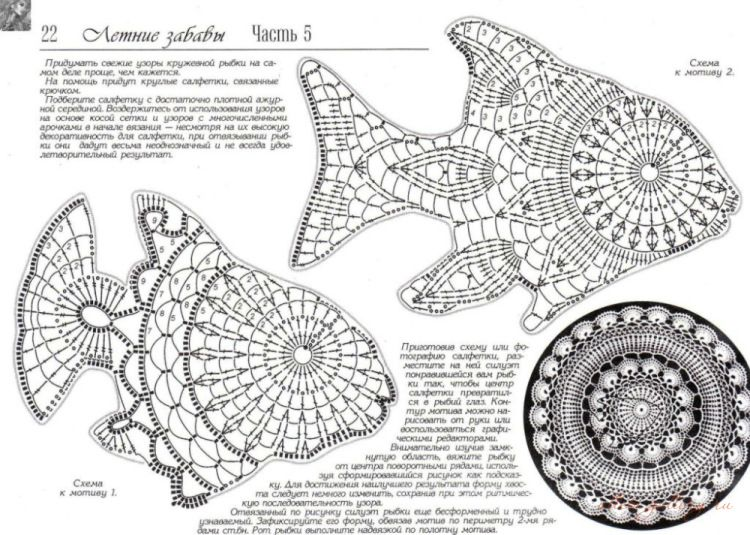 Häkeln Fisch Maritim - crochet fish | Ganchillo | Pinterest ...