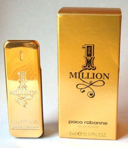 1 Million by Paco Rabanne 5 ml  017 oz Mens Eau De Toilette Mini >>> BEST VALUE BUY on Amazon