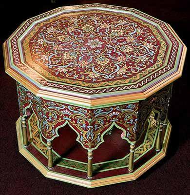 Moroccan Furniture, Decorating Fabrics and Materials for Moroccan Decor