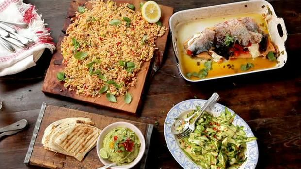 Jamie Oliver Knuspriger Lachs Fantastic Fish Dishes Jamie