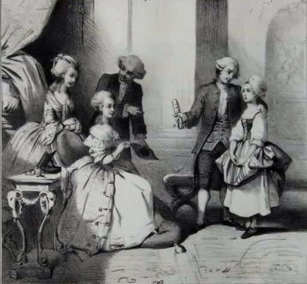 Maria Antonieta,Princesa de Lamballe ,Gluck y Salieri.