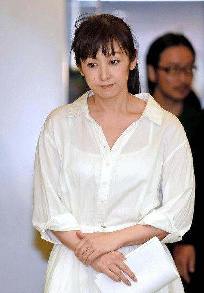 8月3日に開いた会見での斉藤由貴 - Yahoo!ニュース(デイリースポーツ)