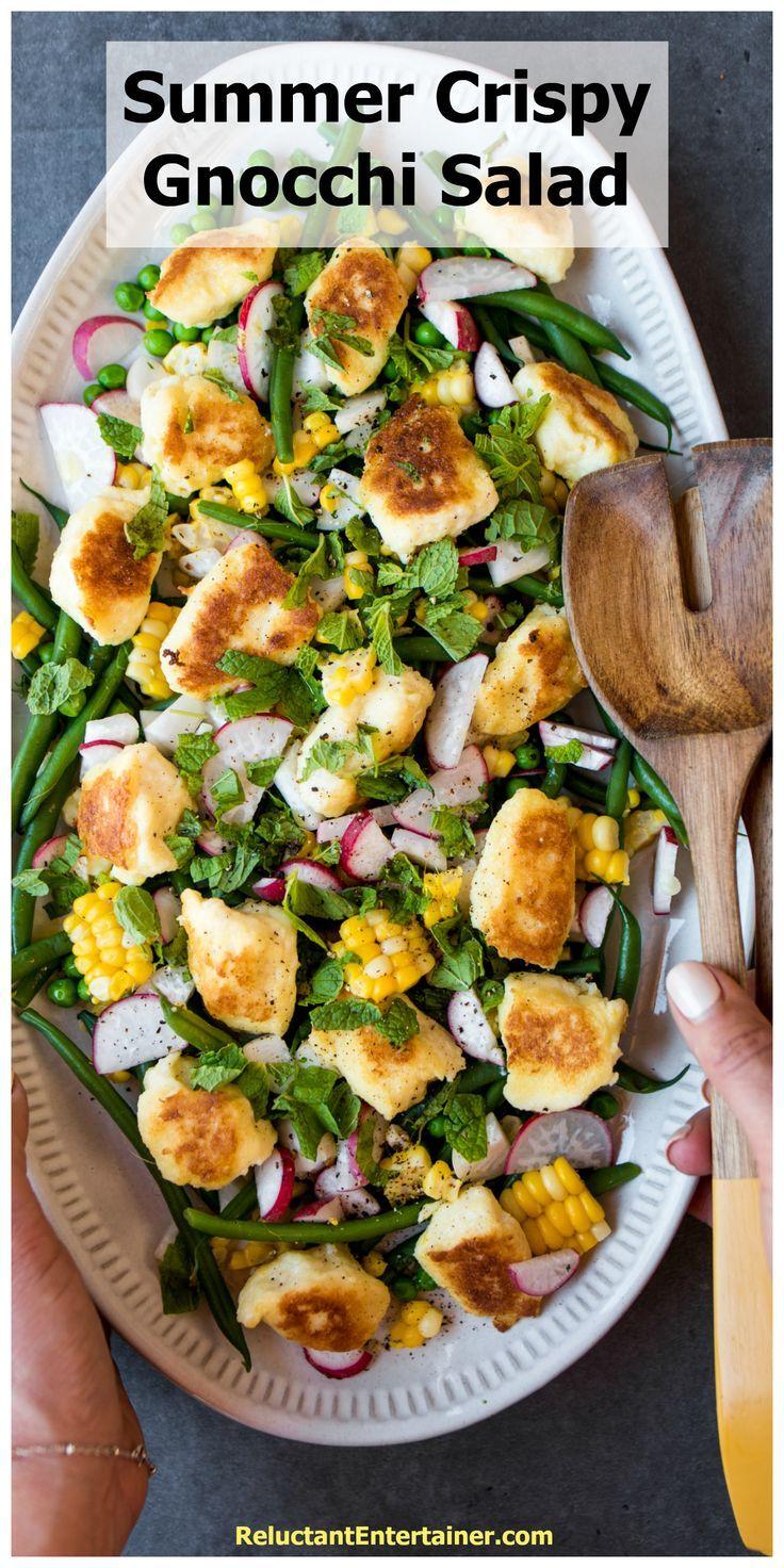 Summer Crispy Gnocchi Salad