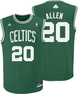 pretty nice fdf58 2f8cb Boston Celtics Ray Allen 20 Green Authentic Jersey Sale ...