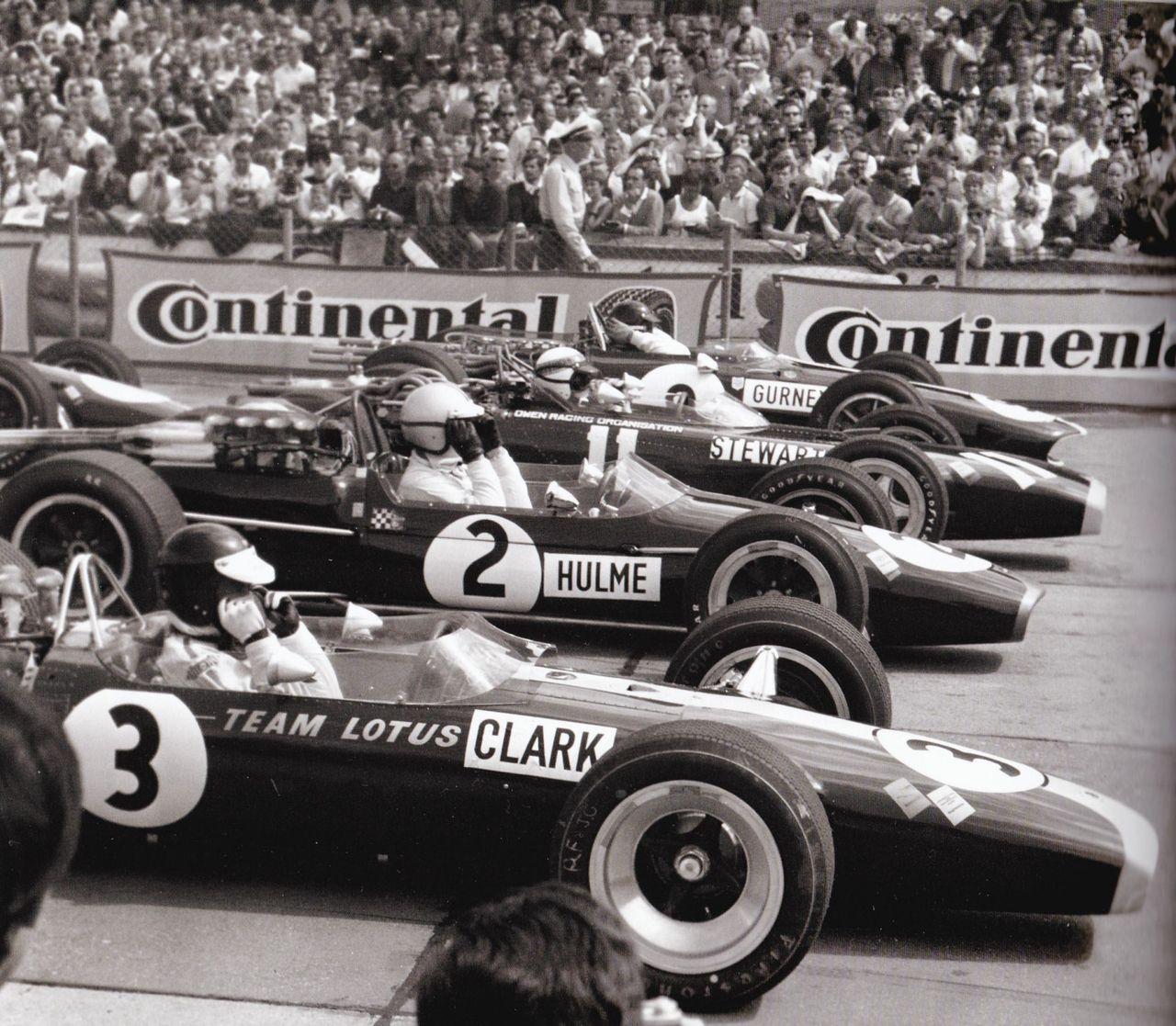 Denny Hulme Classic Racing Cars German Grand Prix Indy Cars