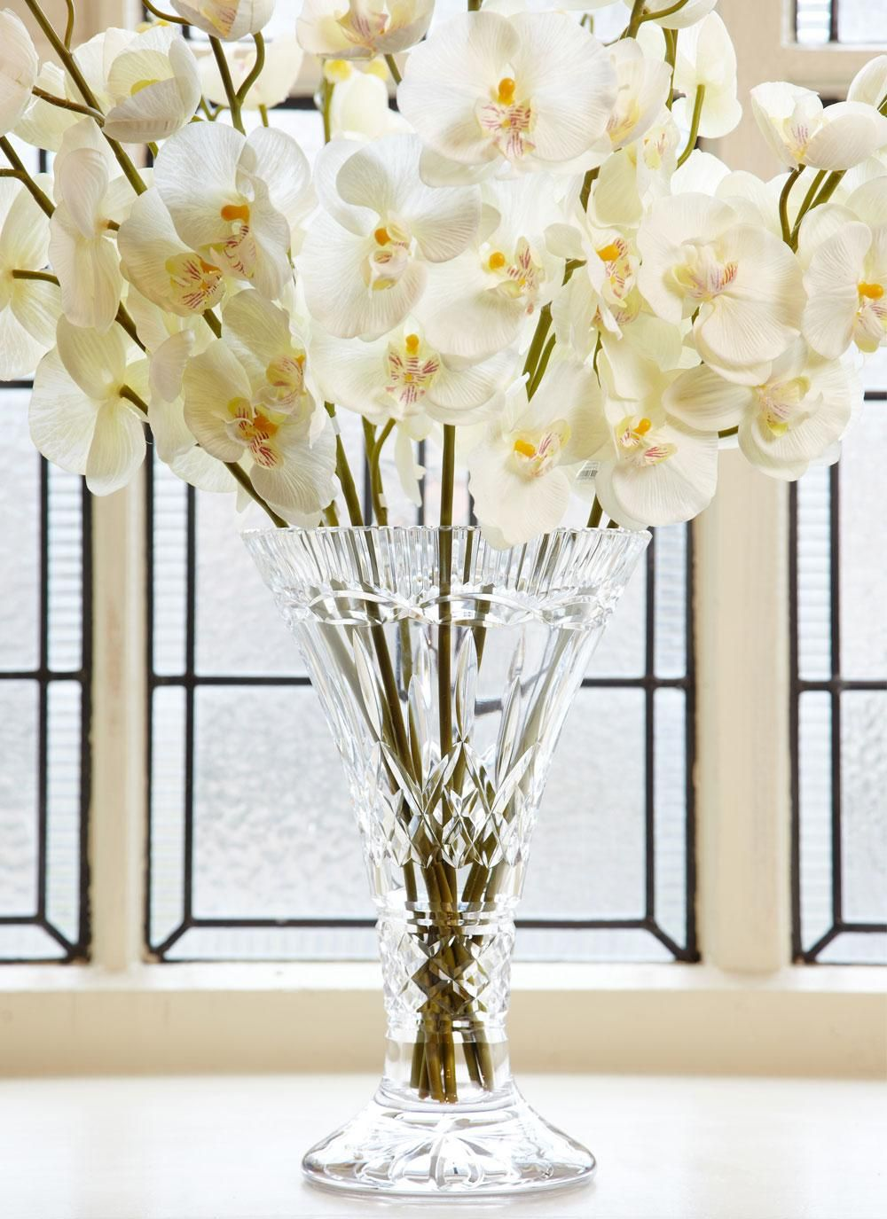 Waterford crystal lismore statement vase accentuate the beauty of waterford crystal lismore statement vase accentuate the beauty of roses floral arrangements and cut floridaeventfo Image collections