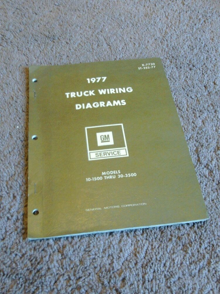 Advertit eBay) 1977 GMC Truck Wiring Diagrams Manual ... on 1984 chevy s10 wiring diagram, 1985 chevy pickup c10 305 engine wiring diagram, 65 c10 underhood wiring diagram, 1972 chevy starter wiring diagram, 1969 chevy 1500 ac wiring diagram, 64 c10 cab wiring diagram, 82 chevy pickup engine wiring diagram, 1966 chevy c10 engine wiring diagram,