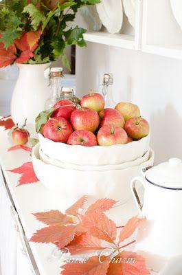 Prairie Charm: Apples, muffins and a small Ikea makeover / Jablká, muffiny a malá ikeácka prerábka