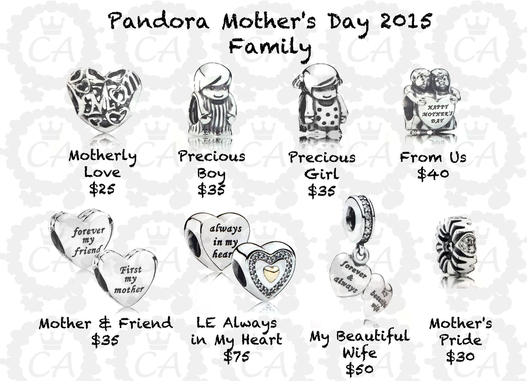 Pandora Mother s Day Collection 2015