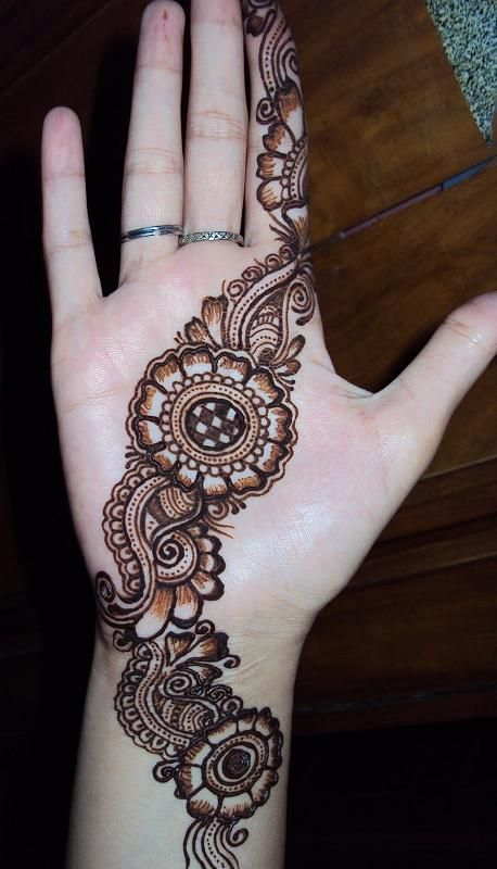 Simple Mehndi For Right Hand : Mehandi designs and patterns to choose from in
