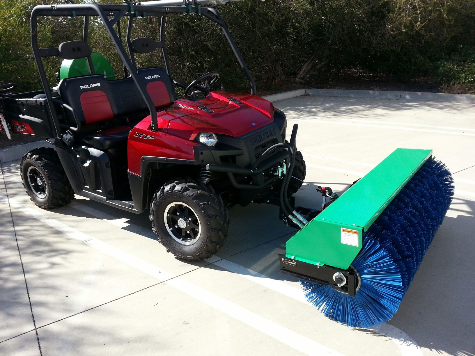 We Are Sweeping The Nation With Our New Hydraulic Power Broom Powered Car Wiring Harness Manual Engineering Driveways 60