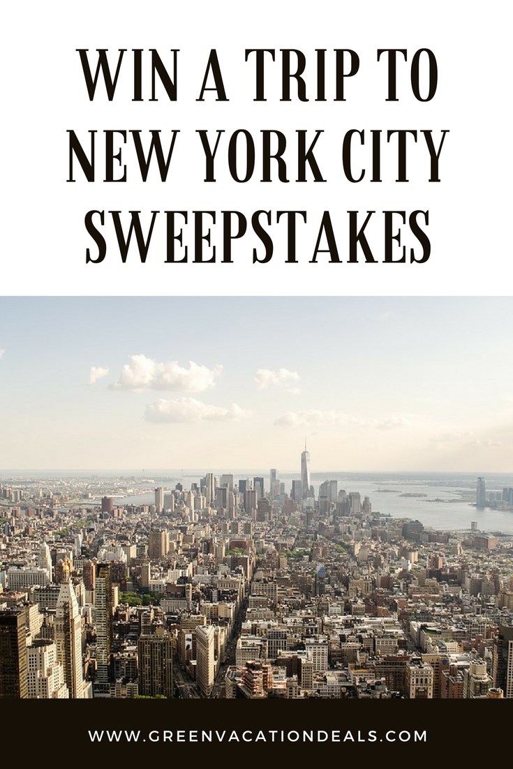 Win A Trip To New York
