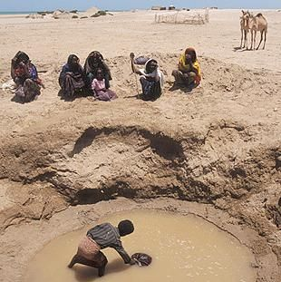 Water shortage in Zambia