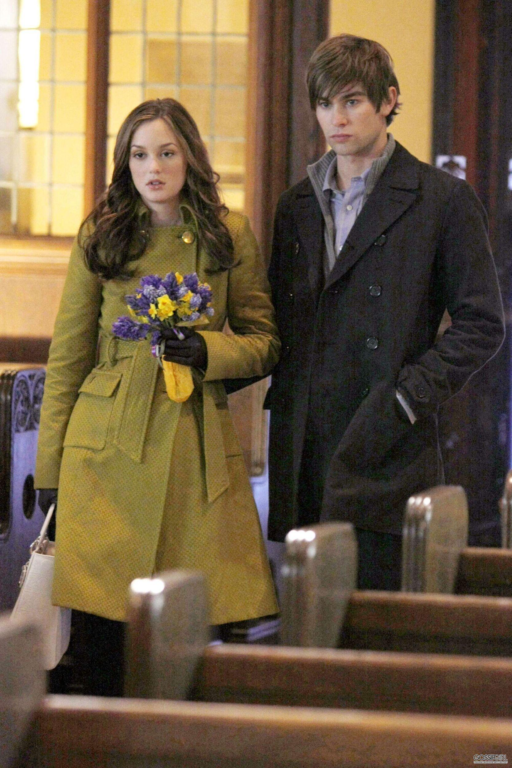 Gossip Girl Season 2. Blair Waldorf, Nate Archibald.