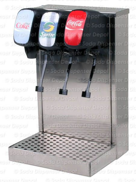 3 Flavor Tower Soda Fountain System W New Remote Chiller