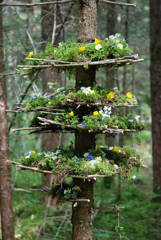Mini Maisons Petits Etres Land Art L Art Exterieur Decoration