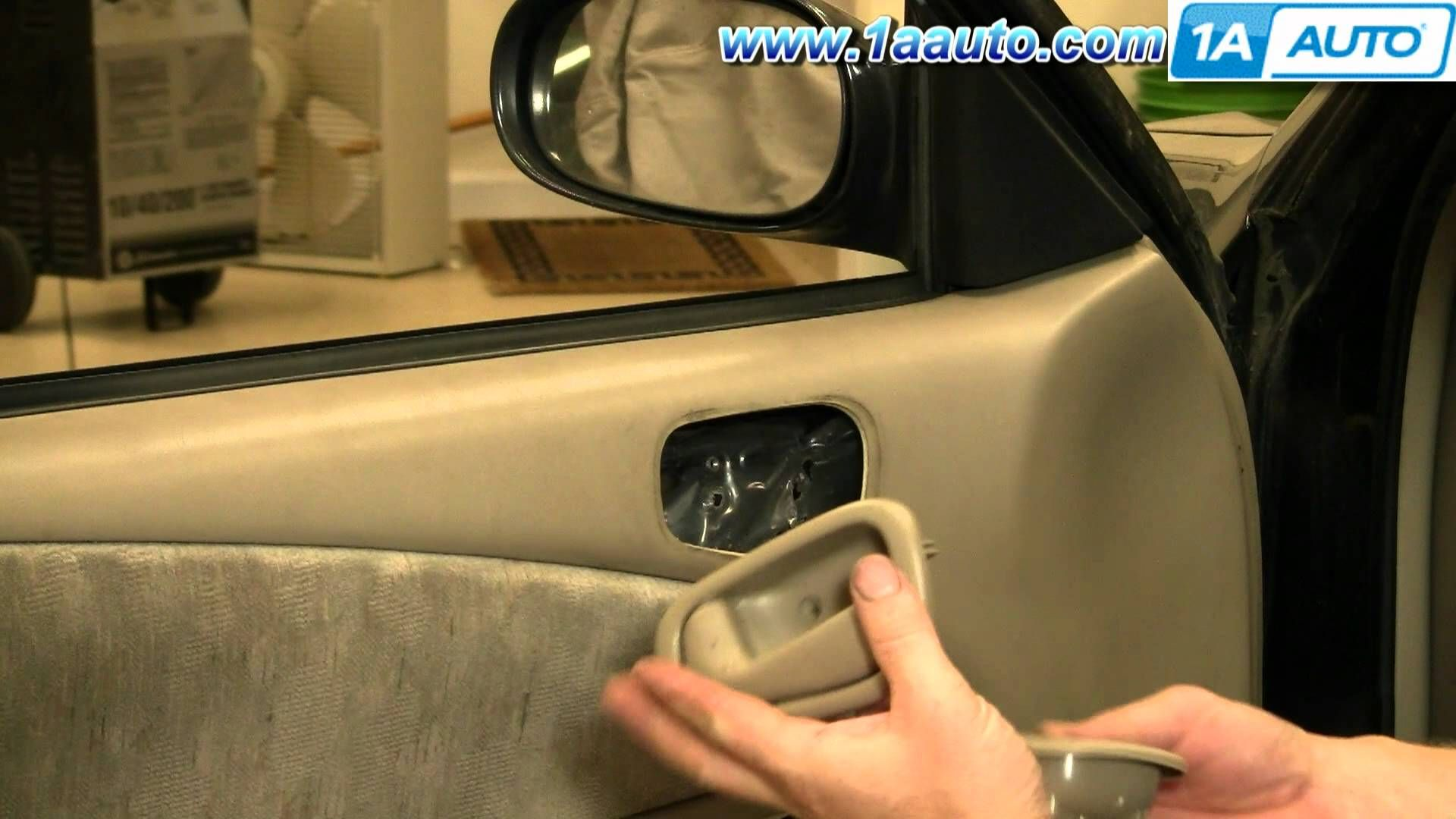 How To Install Replace Inside Door Handle Toyota Corolla 98 02 1aauto Com I Cannot Believe H Sliding Doors Interior Replacing Interior Doors Barn Doors Sliding