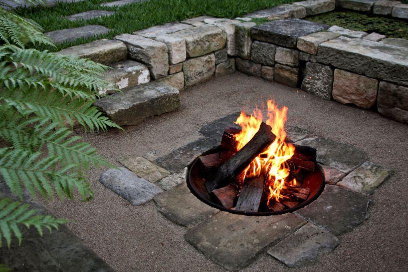 feuerstelle - Versunkene Feuerstelle Designs