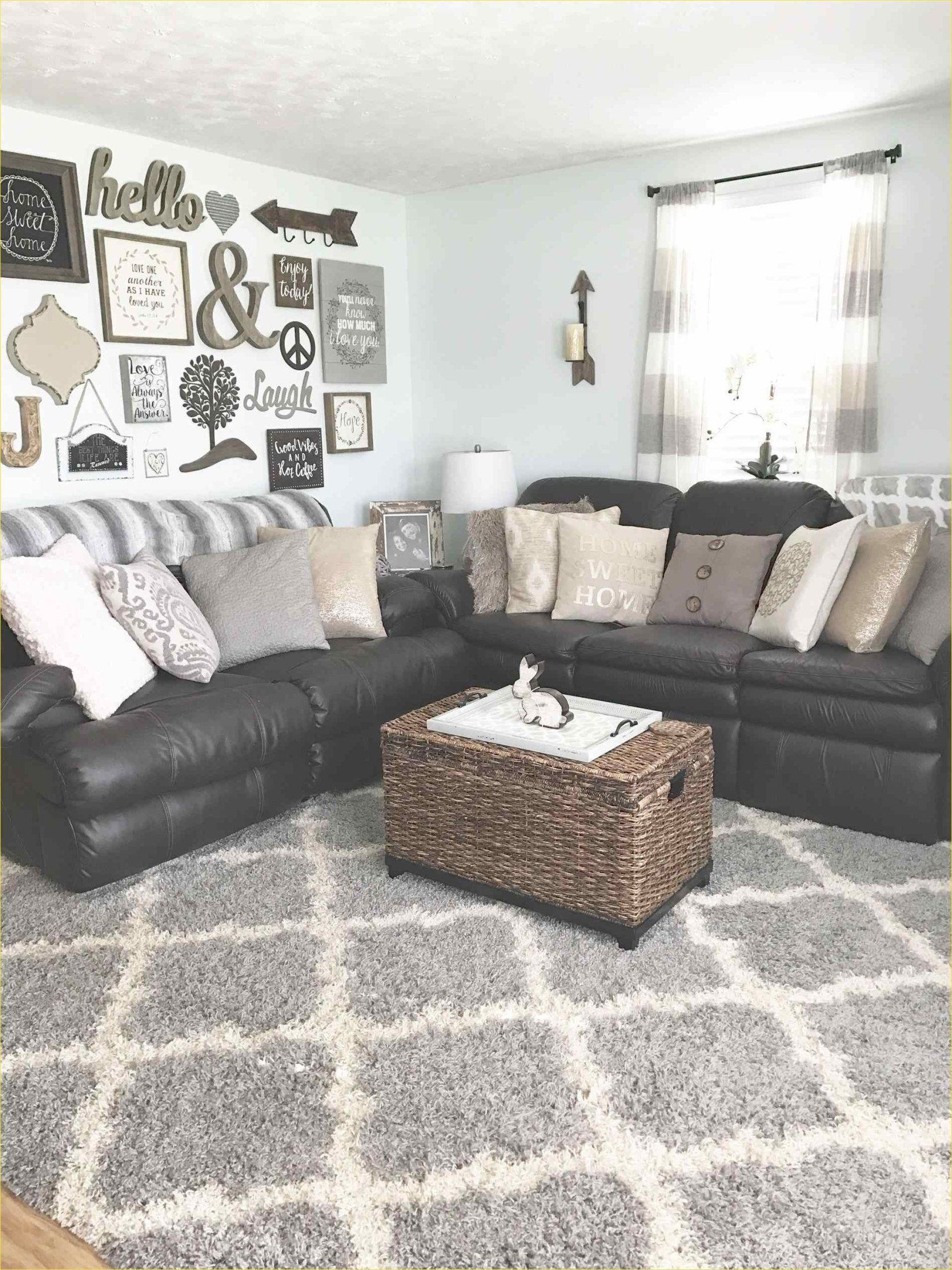 Modern Style Leather Couch