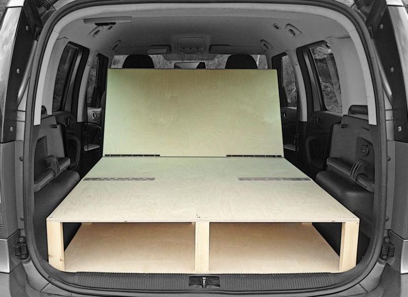299 Skoda Yeti Roomster Camper Van Conversion Module Camper