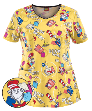 Cherokee Scrubs :Dr Seuss | Cherokee Nursing Uniforms