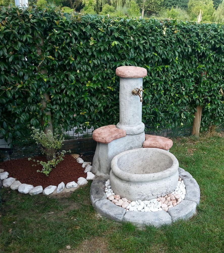 Fontana da giardino mod azalea easy personalizzata con - More da giardino ...