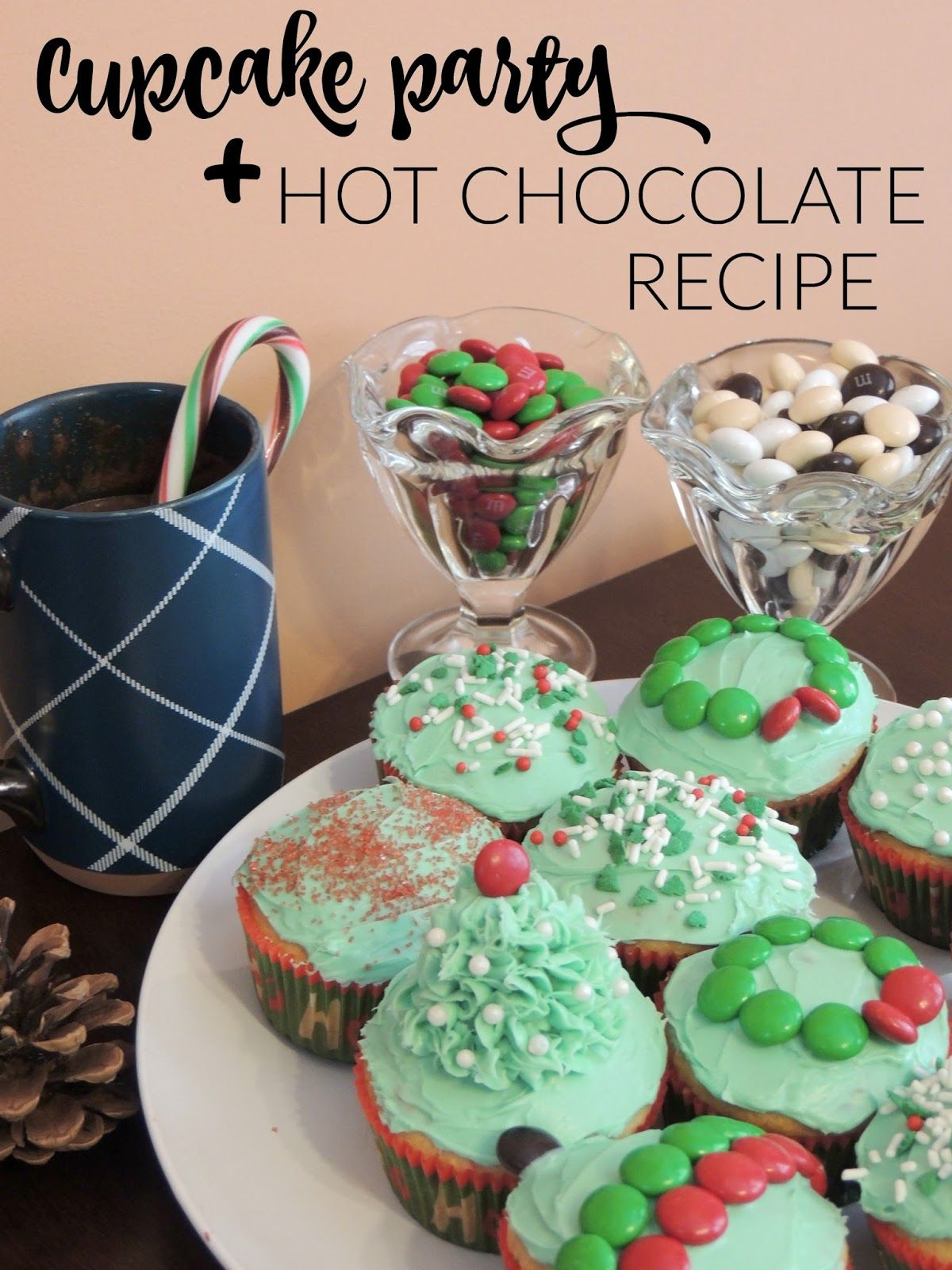 Cupcake Party   Hot Chocolate Recipe {GIVEAWAY}