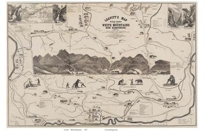 Old White Mountains Maps