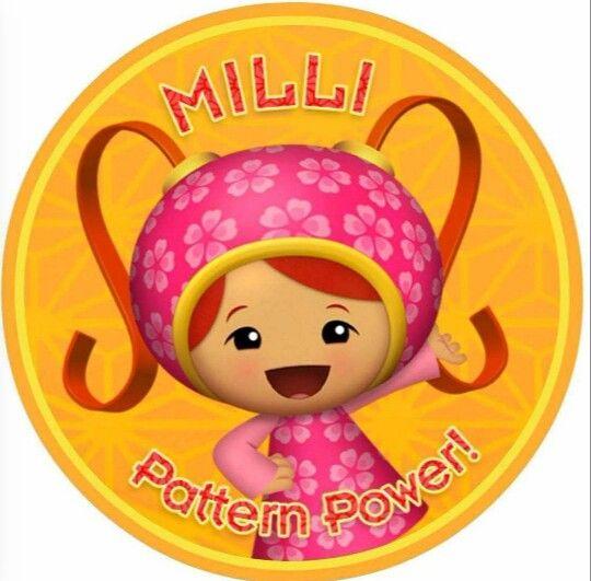 Milli Pattern Power Team Umizoomi, Team Umizoomi Toddler Bedding