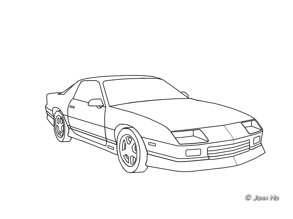 25 Best Looking For Camaro Drawing