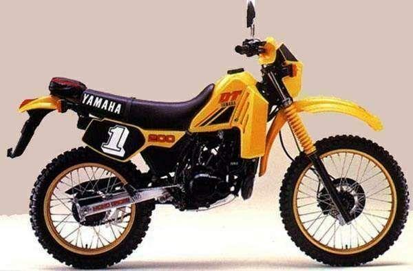 Dt200r Jpg 600 394 Dibujos De Motocross Motos De época Autos Y Motos