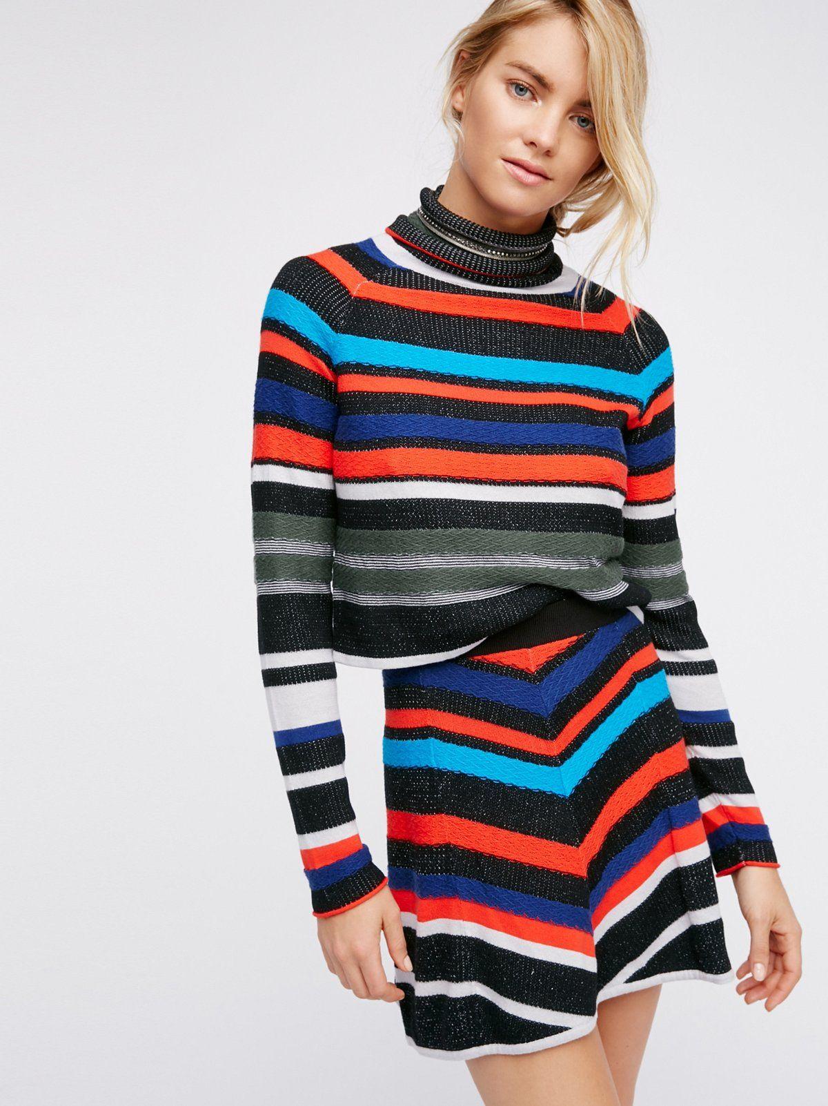 6c4e039a599db9 What A Flirt Sweater Set