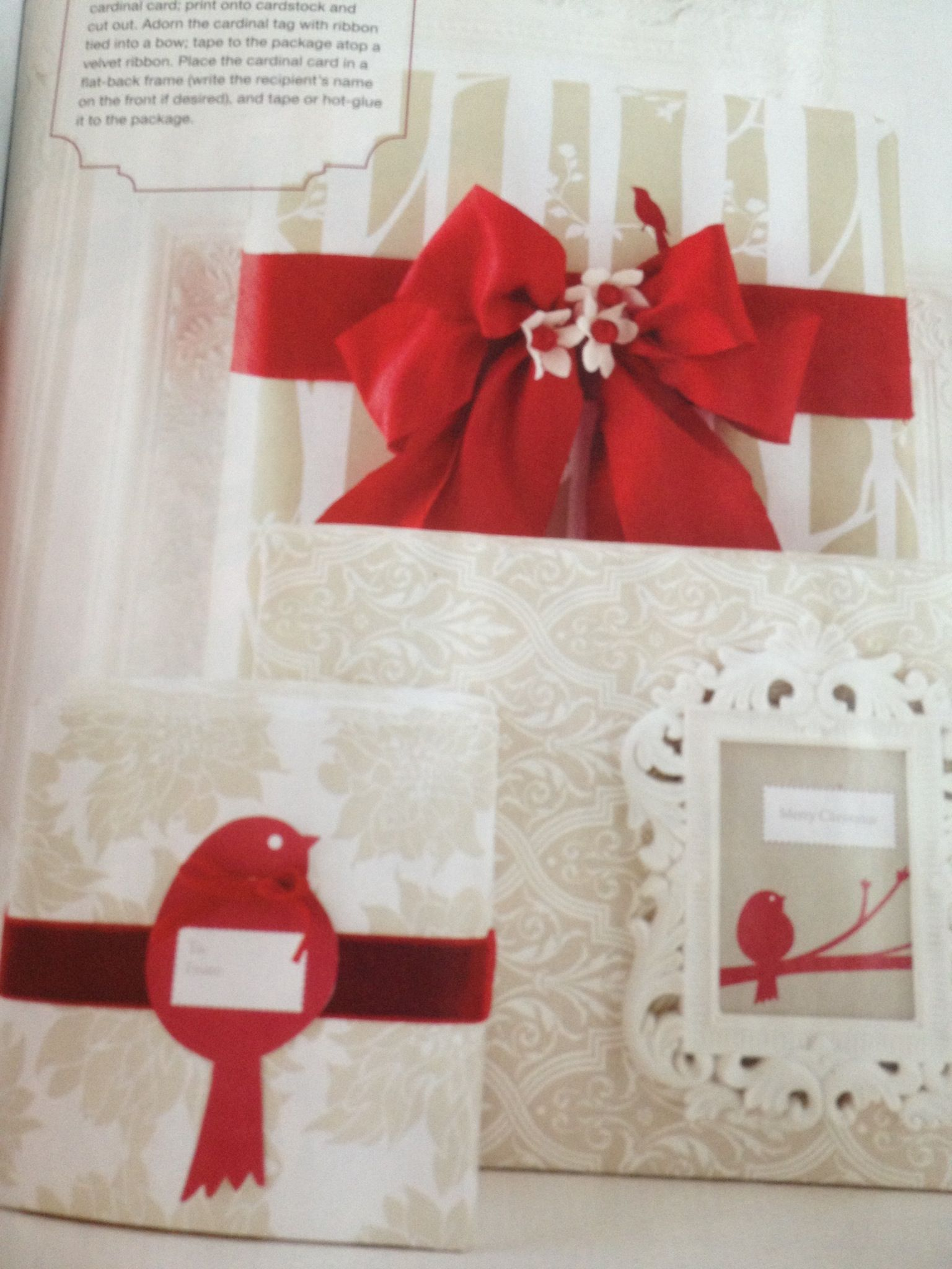 Frame Packages  Christmas Ideas Mag