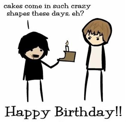 Various happy birthday jokes can be shared to have fun and make this a bunch of funny happy birthday quotes and sayings find the best funny birthday quotes sayings messages and wishes put a smile on your friends faces m4hsunfo Images