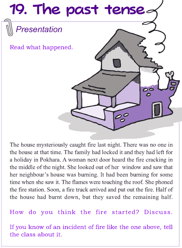 Grade 4 Grammar Lesson 19 The past tense : Grammar : Pinterest : Grammar lessons and English