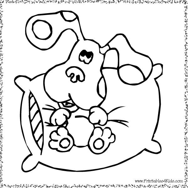 Coloring Page School Pinterest Blues clues and Birthdays