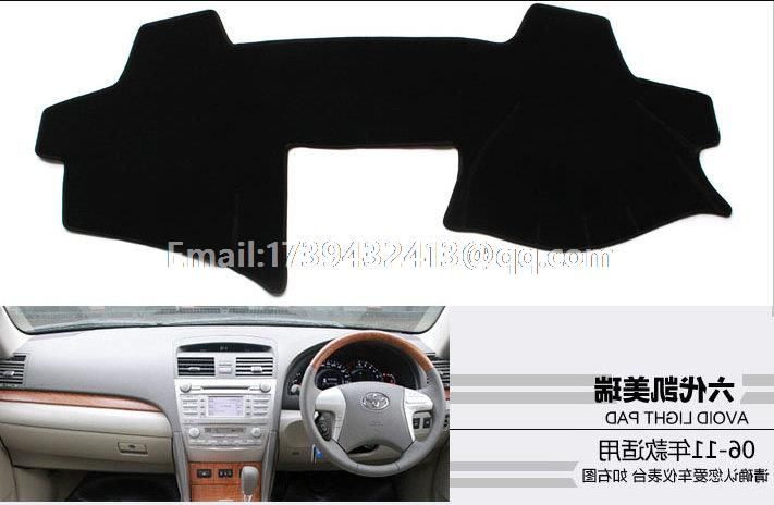 For Toyota Camry Xv40 2006 2007 2008 2009 2010 2017 Generation 6 Dashmats Car Styling
