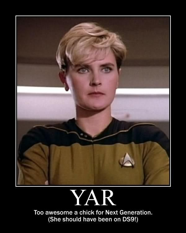 Posted By Sf Series And Movies Tasha Yar I Didnt Really Like Her
