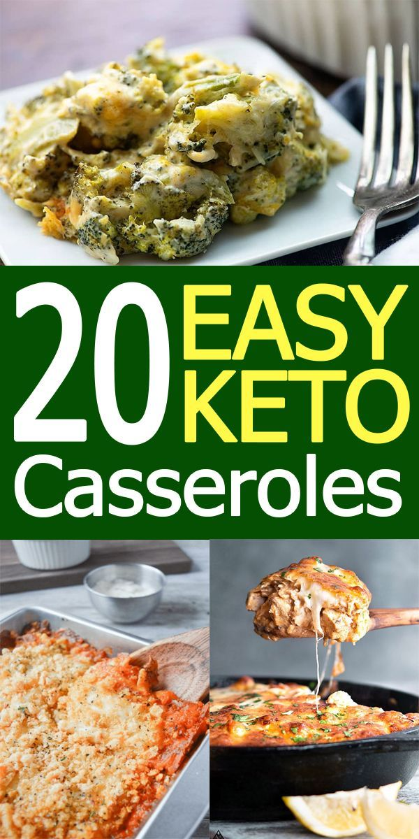 20 Easy Keto Casserole Recipes for Comforting Evenings
