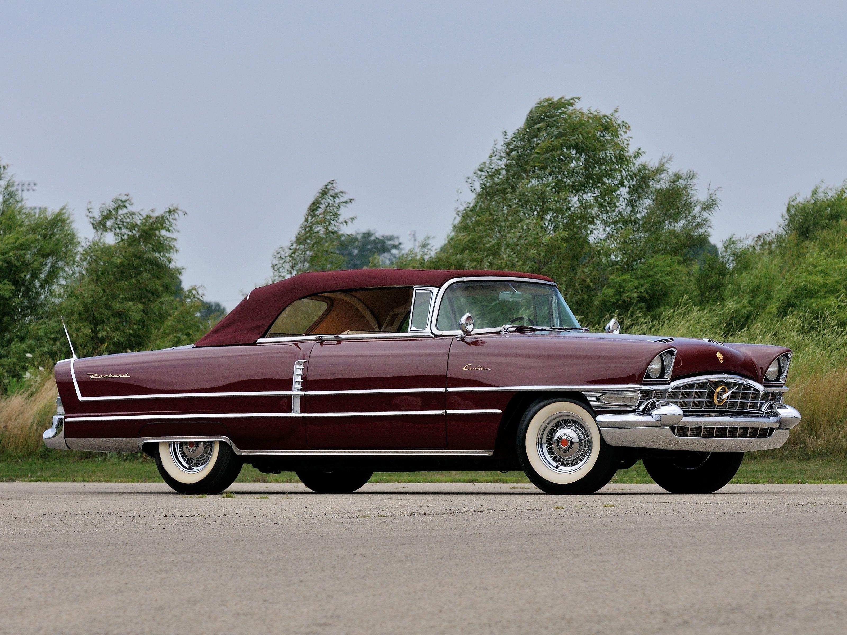 1956 Packard Caribbean Custom Convertible Packard cars