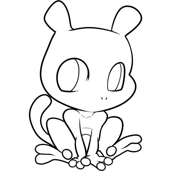 Cute Chibi Mewtwo Coloring Page Download Print Online Coloring Pages For Free Color Nimbus Pokemon Coloring Pages Pokemon Coloring Chibi Coloring Pages
