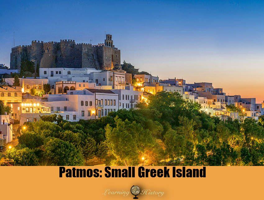 Patmos: Small Greek Island in the Aegean Sea #aegeansea
