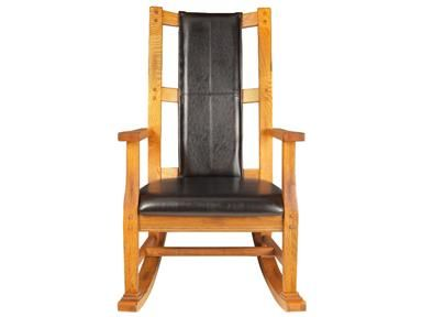 Shop For Sunny Designs Rustic Oak Rocker, 300115, And Other Living Room  Chairs At