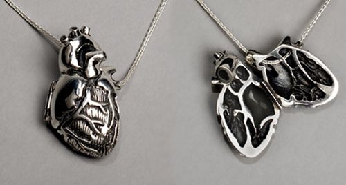 An actual open-heart locket. Maybe if I carry mine on the outside I can avoid getting it broken.