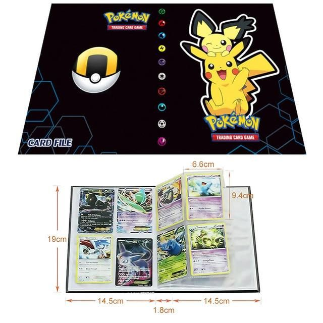 Photo of Pokemon Cards Album Book Cartoon – Anime 80/240PCS Game Cards – 5