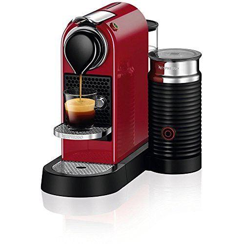 Nespresso C122 Us Cr Ne Citiz Milk Espresso Machine Red